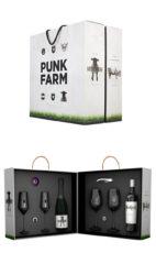 Confezione Regalo Vini Punk Farm Cava Molto Negre Alexander Casa Rojo Spagna