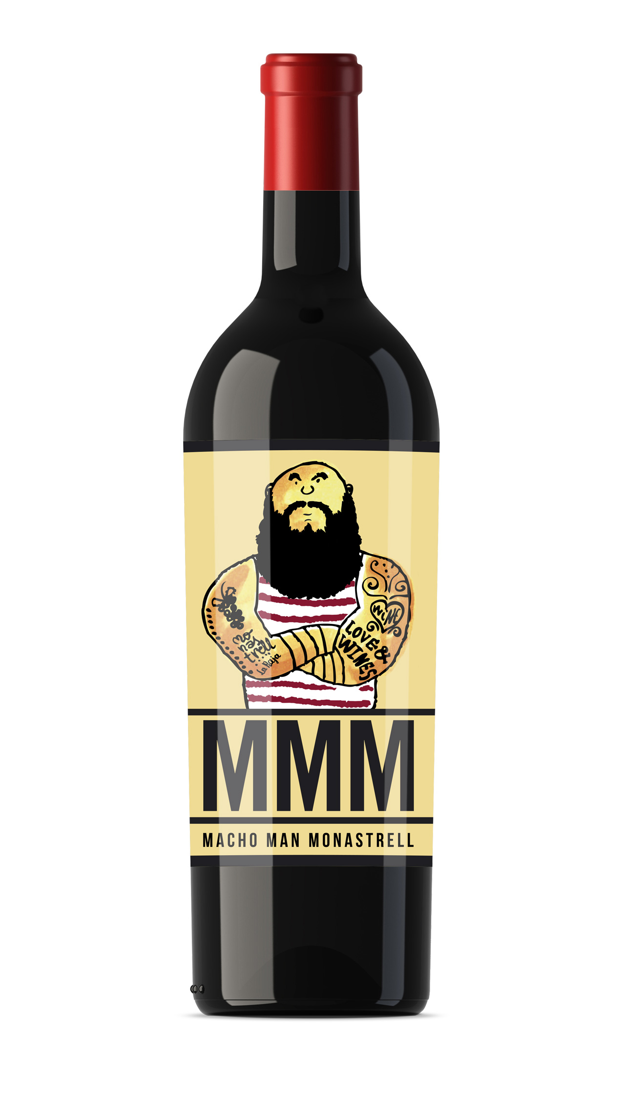 MACHO MAN 2014 CASA ROJO - THE WINE GURUS