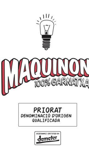 Maquinon Casa Rojo Priorat Vino Rosso