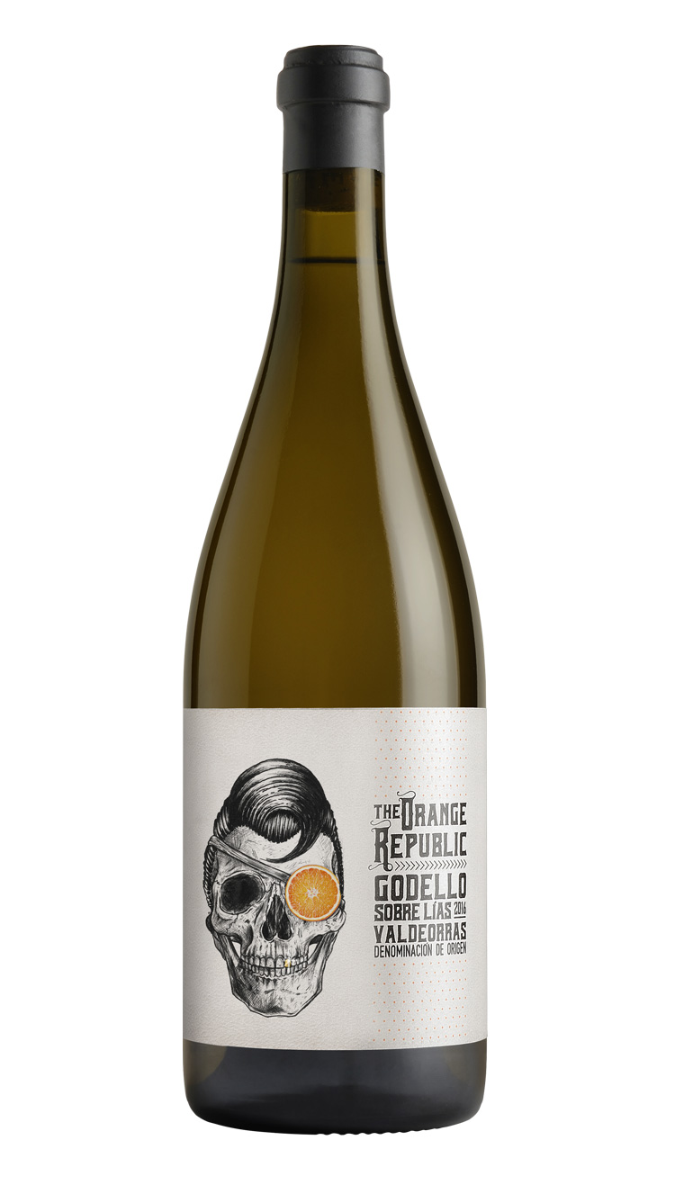 casa rojo the orange republic 2016 godello winelite vino bianco spagnolo